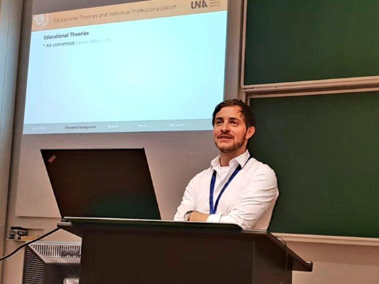 Stefan T. Siegel; Jure Conference (2018, July; Antwerp, Belgium) CC BY-ND-NC